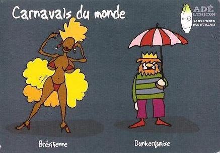 Carnaval Brasil e Dunkerque